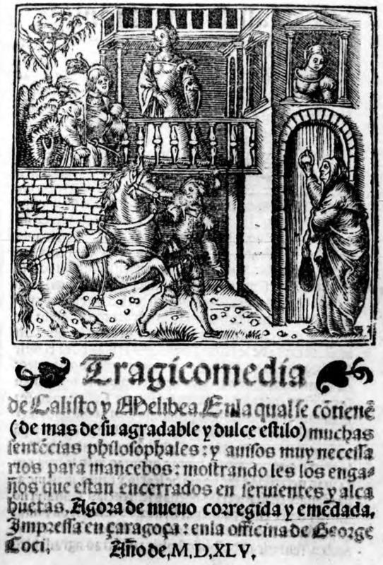 Portada de la edición de Zaragoza (1545)