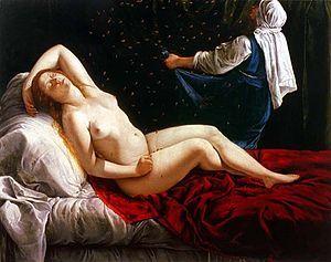 Danae, de Gentileschi (1612)