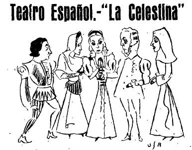 Representación del Teatro Español, Madrid, 1940<br />