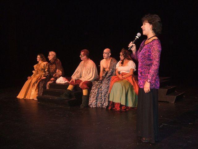 Representación del Hispanic Theatre Festival, Miami, 2008<br />