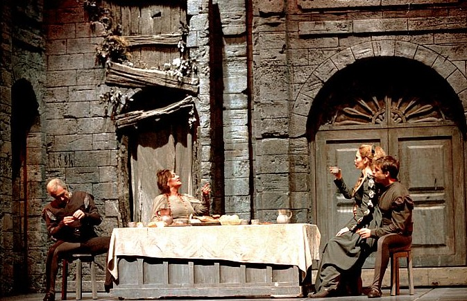 Representación del Teatro Albéniz, 1999