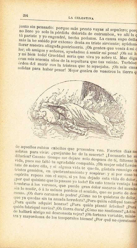 Ilustración del acto XXI de la edición de Barcelona (1883)