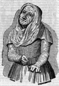 La Celestina, Semanario Pintoresco Español, grabado de Marquelain (1836)