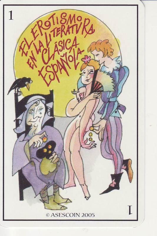 Baraja El Erotismo en la Literatura Clásica Española (2005)