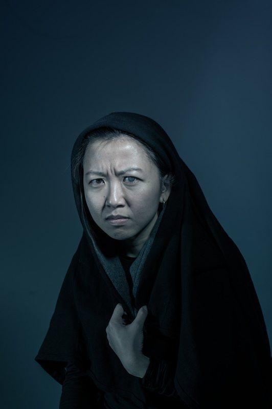 Azul, Celestina autoretrato, de Lee-Warne (2015)