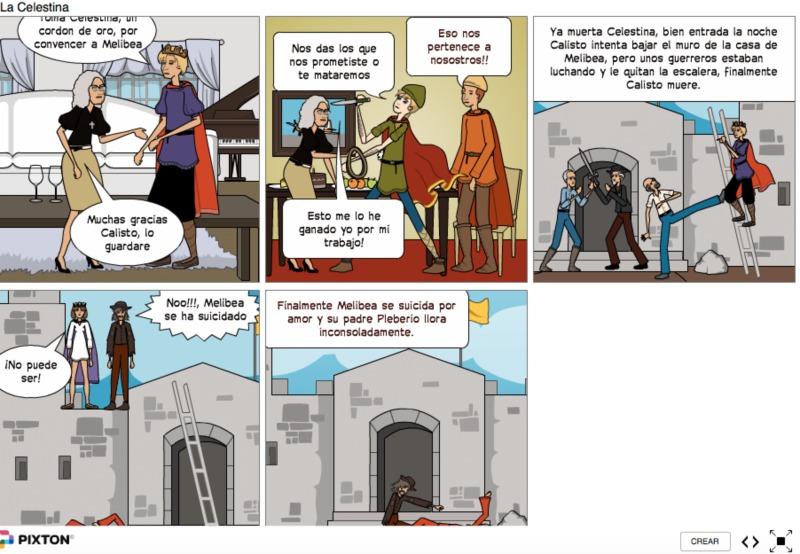 La Celestina, comic, anónimo (2017 c.)