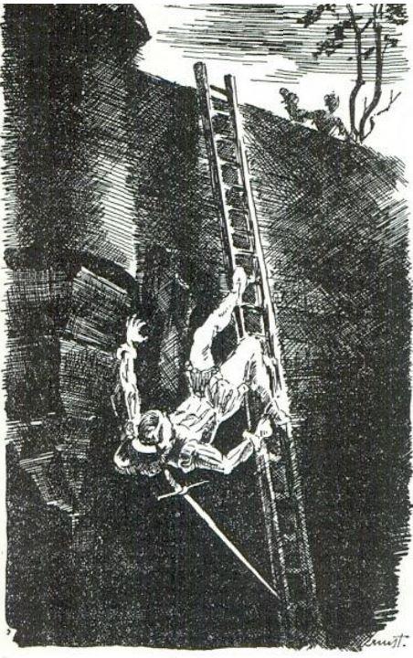 Ilustración segunda del acto XIX de la edición de París (1989)