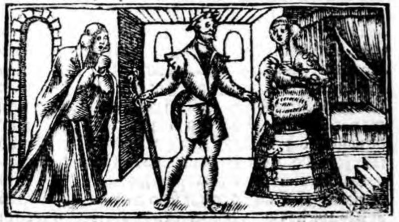 Ilustración del acto XV de la edición de Zaragoza (1545)