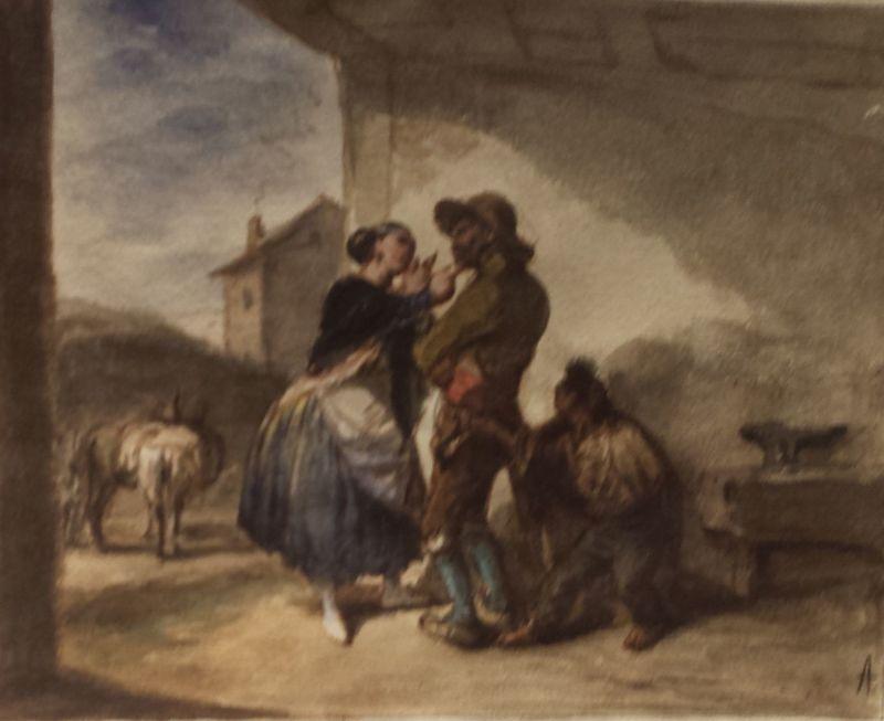 Mientras le miman le roban, de Alenza (1838, c.)
