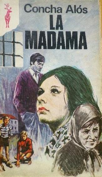 Portada de novela La madama, de Concha Alós (1973)