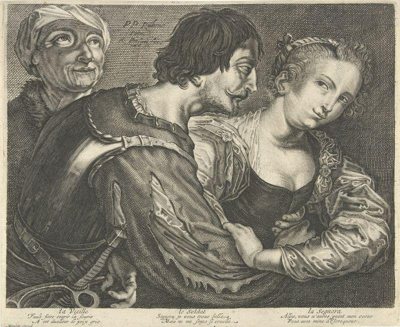 La alcahueta, de van Persijn (1645 c.)