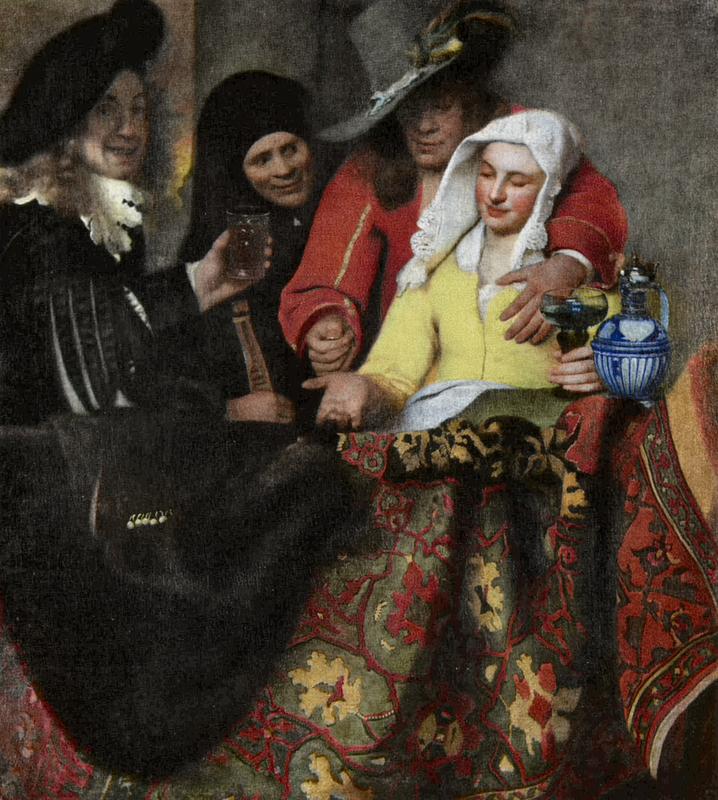 De koppelaarster (la alcahueta), de Vermeer (1656).