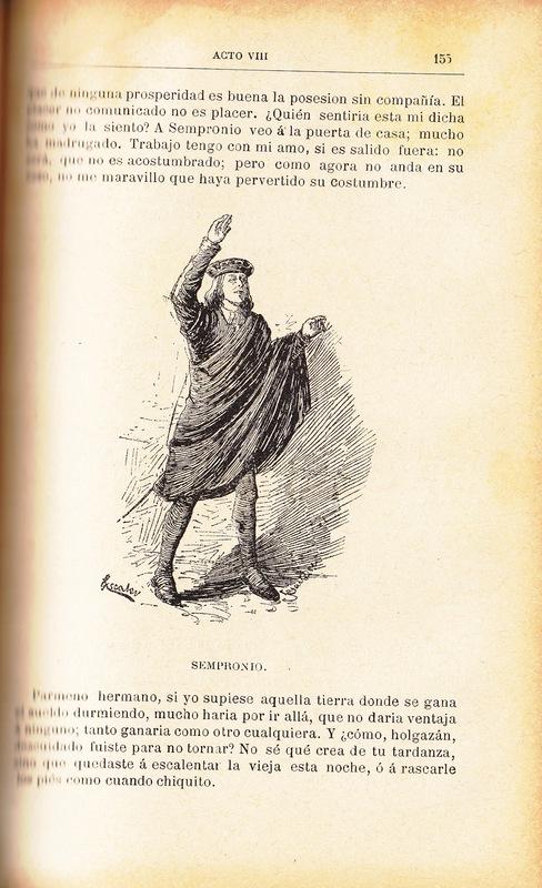 Ilustración primera del acto VIII de la edición de Barcelona (1883)