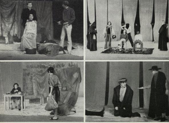 Representación del Berliner Ensemble, Berlín, 1974