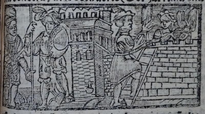 Ilustración segunda del acto 14 de Medina del Campo, 1530