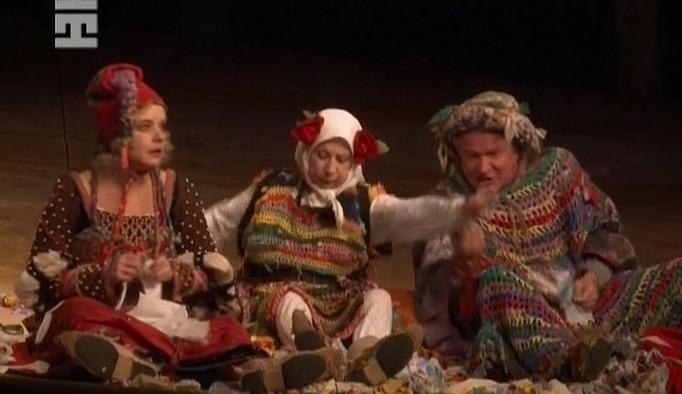 Representación del Moscow Contemporary Theatre, Rusia, de Kolyada (2012)