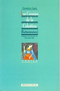 Portada de libro Los consejos de la madre Celestina, de Damodara Gupta (1973)