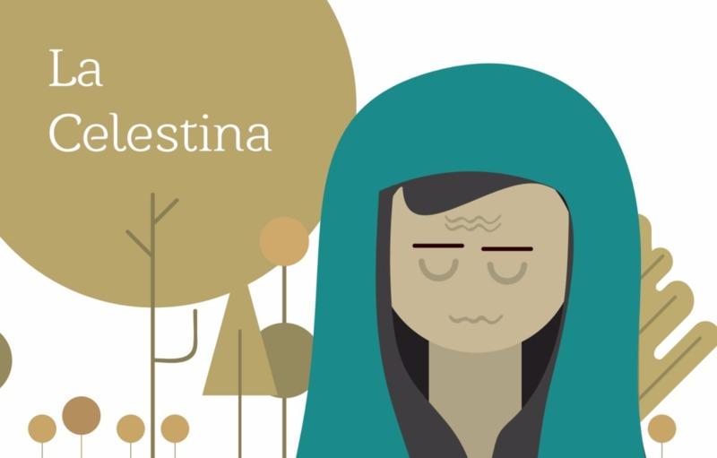 Comic de La Celestina con texto aparte de Pulunto Pérez (2016)