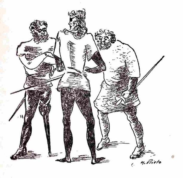 Ilustración segunda del acto XVIII de la edición de México (1947)