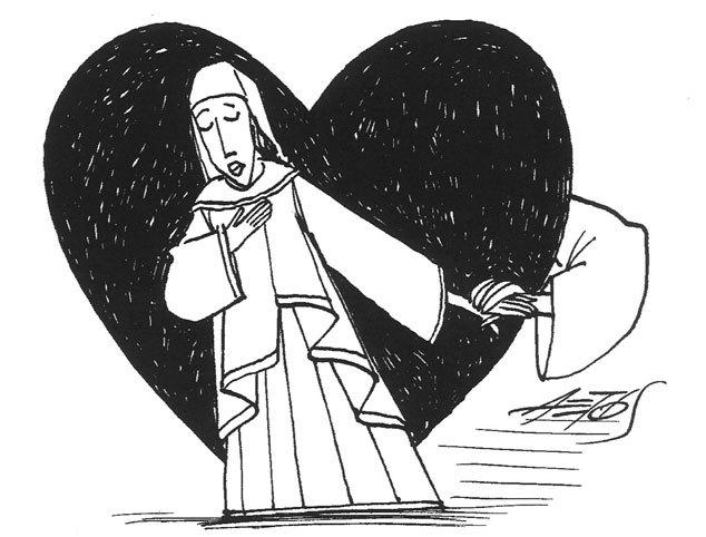 Ilustración de Melibea, de AETOS (2013)