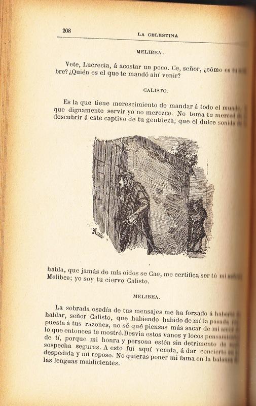 Ilustración primera del acto XII de la edición de Barcelona (1883)