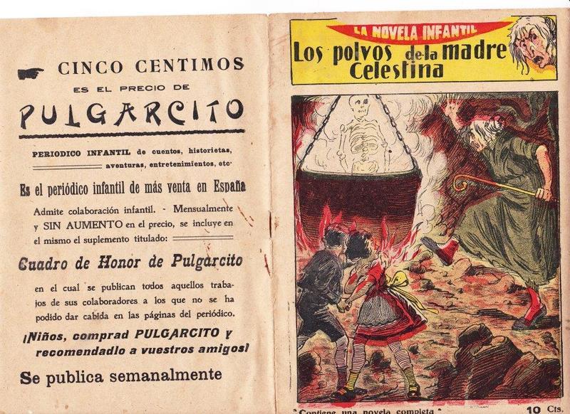 Comic Los polvos de la madre Celestina (1920 c.)