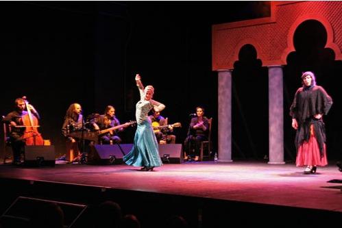 Representación del Espace Julien, Marseille, de la Rueca Teatro (2009)<br />