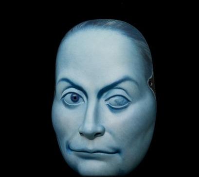 Máscara de La Celestina, de Yamaguchi