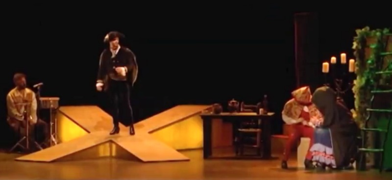 Representación del Teatro Alkázar, Plasencia, de García Cáceres (2017)