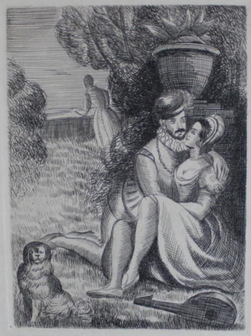 Grabados de la adaptación francesa de La Célestina, de Le Breton (1929)