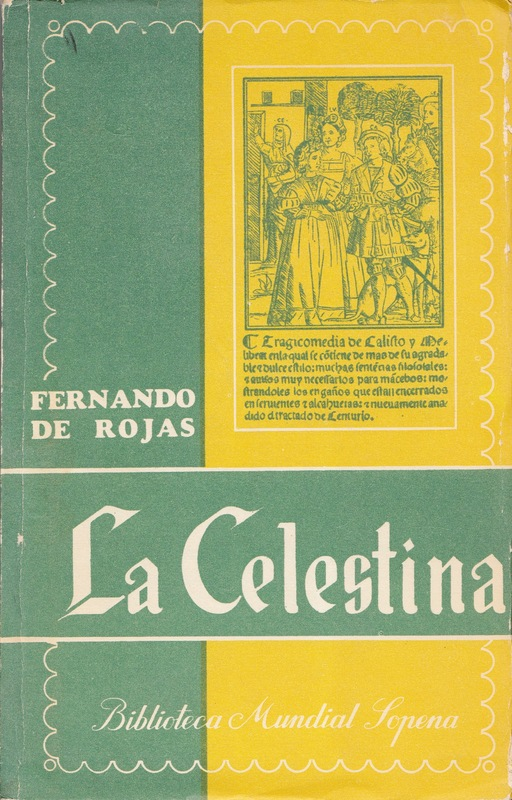 Portada de la edición de Biblioteca Mundial Sopena: Buenos Aires, 1954.
