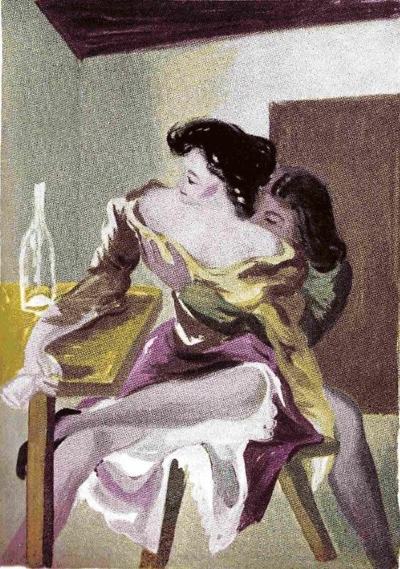 Ilustración segunda del acto V de la edición de México (1947)