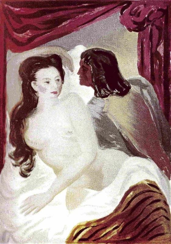 Ilustración segunda del acto X de la edición de México (1947)