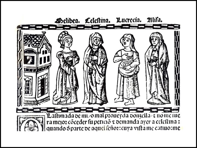 Grabado del acto X de la edición de Valencia (1514)