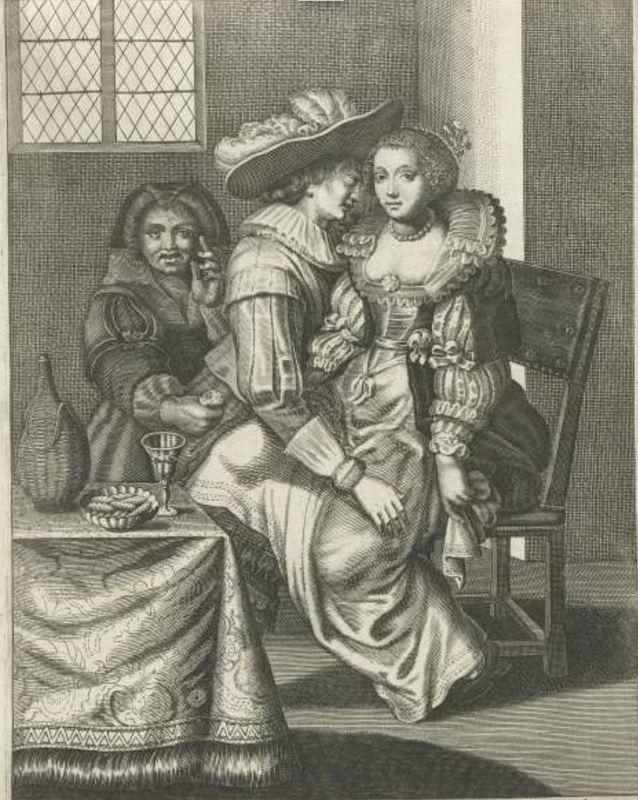 La alcahueta, de de Isaac (1627 c.)