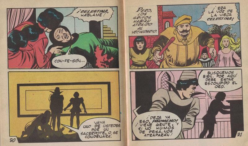 Cómic de La Celestina, México (1988)