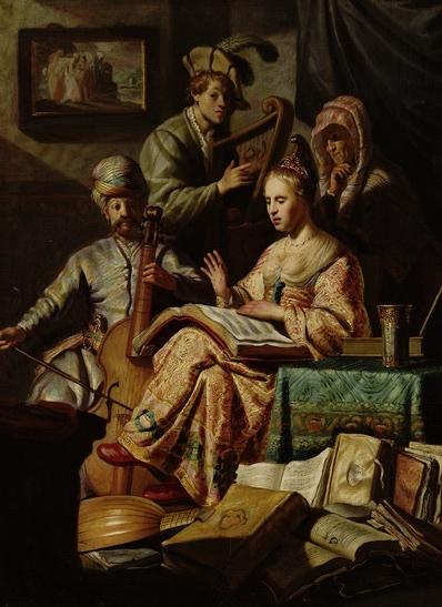 Compañía musical, de van Rijn (1626)