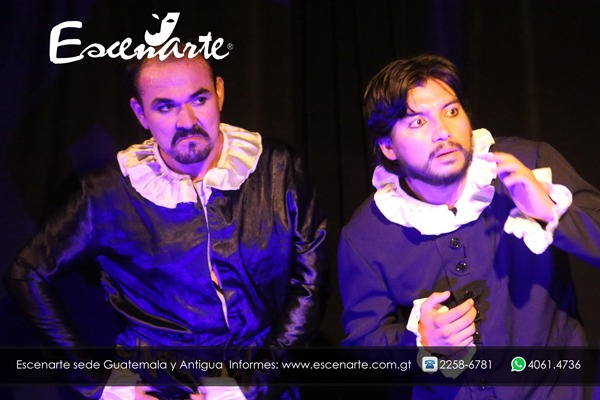Representación de Escenarte, Guatemala, González Llanez (2016)<br />