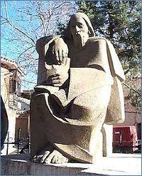 Estatua de Fernando de Rojas en Puebla de Montalbán (1980 c.)
