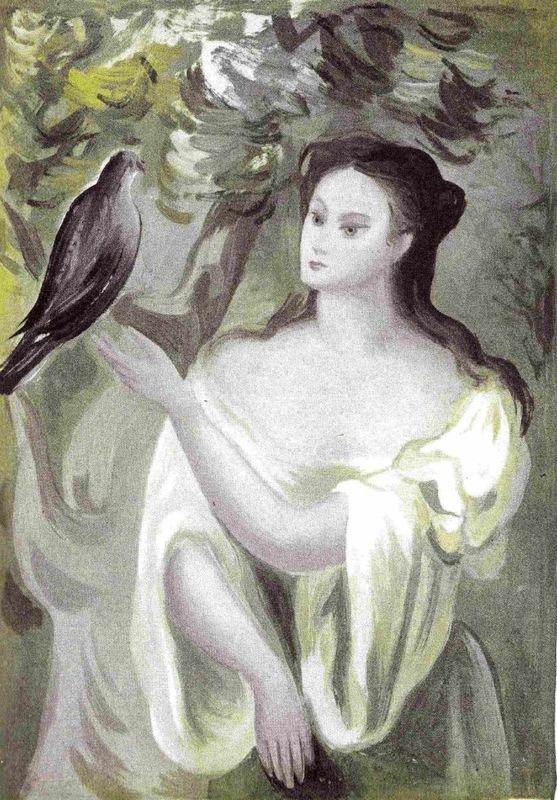 Ilustración tercera del acto I de la edición de México (1947)