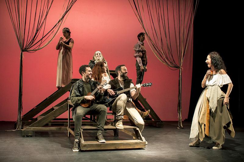 Representación del Teatro Real Carlos III, Aranjuez, de Maroto