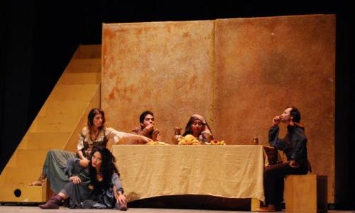 Representación del Teatro Armando Manzanero, Mérida, México, 2011