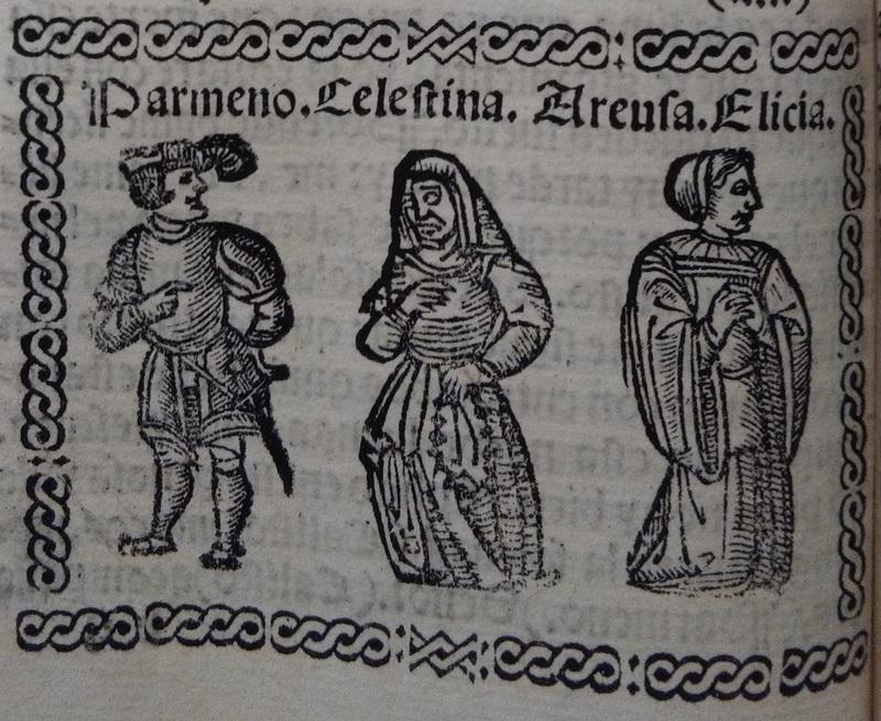 Ilustración del acto 7 de Medina del Campo, 1530