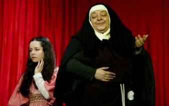 Representación del Karpas Teatro, Madrid, 2014<br />