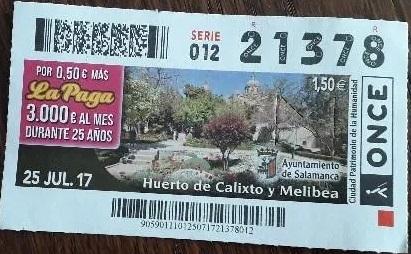 Cupón huerto de Calixto y Melibea.jpg