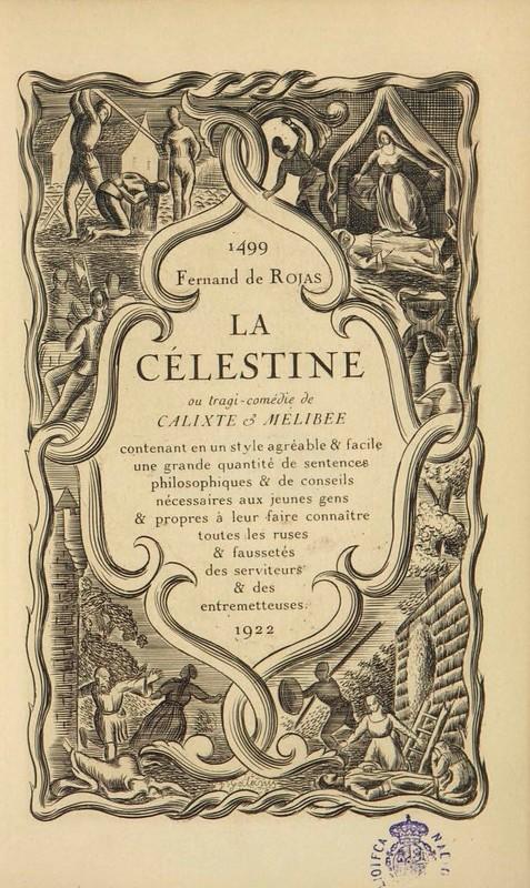 Portada de la edición de  La Nouvelle Revue Française, París (1922)