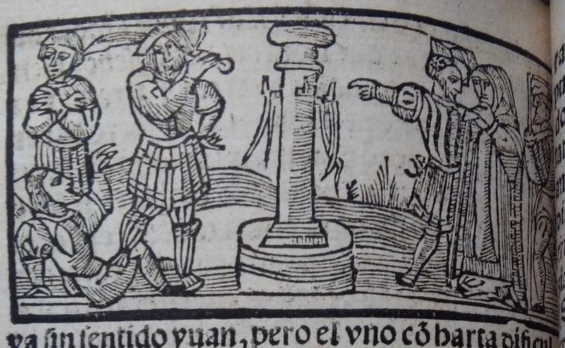 Ilustración segunda del acto 13 de Medina del Campo, 1530