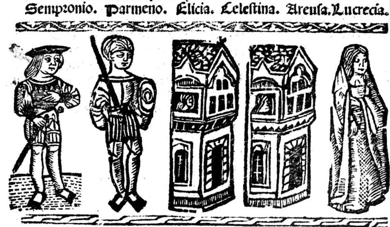 Ilustración del acto IX de la edición de Valencia (1529)