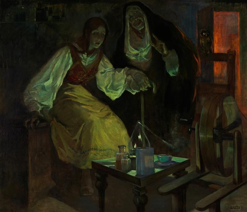Brujerías, de Garza y Bañuelos (1912, c.)