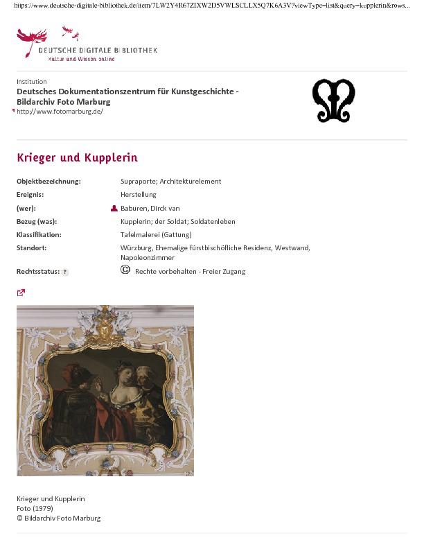 Der Krieger und die Kupplerin (el soldado y la alcahueta), de Baburen, (siglo XVII)